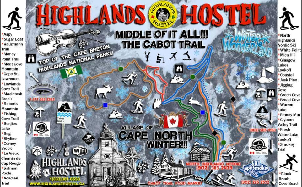 Highlands hostel winter activities