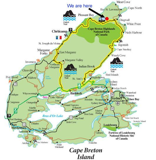 Cape Breton Cabot trail hostel