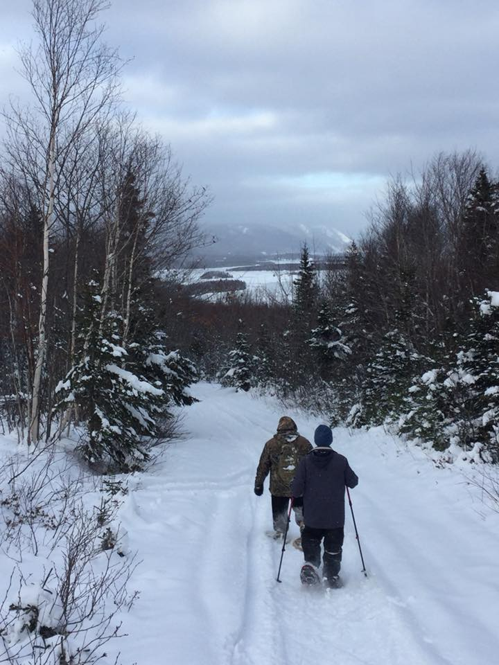 NHN snow shoeing